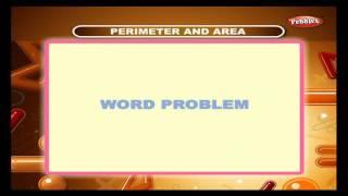 Cbse 4th CBSE Maths | Perimeter And Area | NCERT | CBSE Syllabus | Animated Video