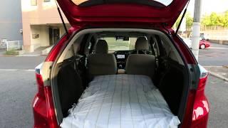 車中泊に最適車!?ホンダシャトルハイブリッドに低反発マットを敷いてみました。