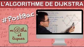 Utiliser l'algorithme de Dijkstra pour déterminer le plus court chemin. 👍 Site officiel : http://www.maths-et-tiques.fr Twitter : https://twitter.com/mtiques...