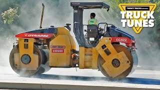 Kids Truck Video - Road Roller