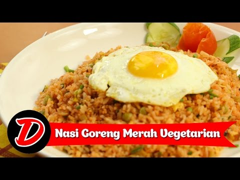 Video Resep & Cara Membuat Nasi Goreng Vegetarian