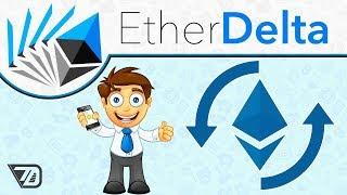 EtherDelta - КАК ПОЛЬЗОВАТЬСЯ БИРЖЕЙ? Как продать токены с БАУНТИ?