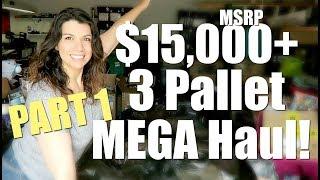 HUGE $15,000+ Pallet Liquidation Unboxing! HBA Customer Returns | Part 1