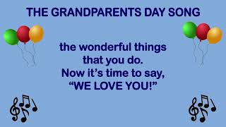The Grandparents Day Song   Mr  Minner