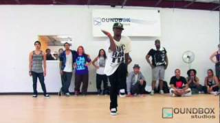 SoundBox Studios Workshop Choreographer Derrick Caldwell to Chris Brown - Medusa