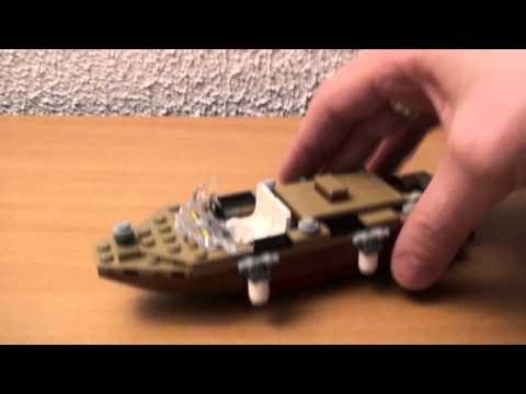 Vidéo LEGO Indiana Jones 7197 : Poursuite à Venise