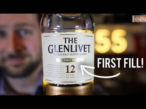The (Better) Glenlivet 12 Year: First Fill Single Malt Scotch | Whisky Review by 555 Gear