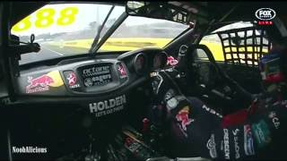 Bathurst 1000 2015 on board with Craig Lowndes, Holden VF Commodore.