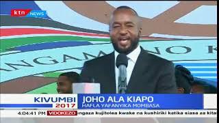 Kinara wa NASA Raila Odinga na Musalia Mudavadi wahudhuria sherehe ya gavana Ali Hassan Joho: Mbiu