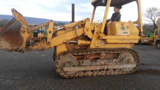 how to operate a cat traxcavator - Free video search site