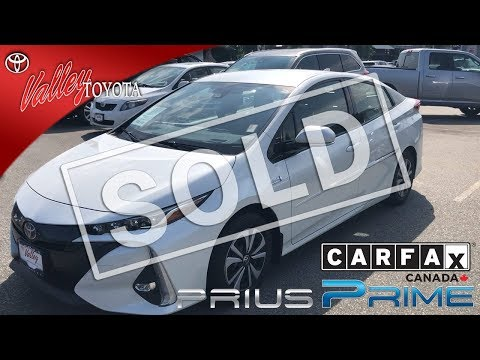 Certified Pre-Owned 2018 Toyota Prius Prime Tech Pkg