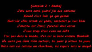 Booba Ft Kalash   Rouge et Bleu Paroles