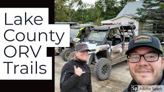 Lake County Michigan | ORV RZR trail ride