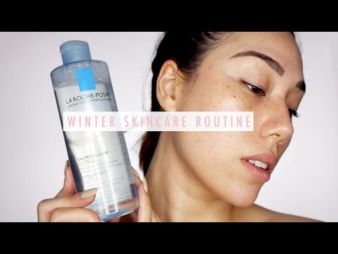 My Winter Skin Care Routine for Dry Sensitive Skin ft. La Roche-Posay GIVEAWAY!