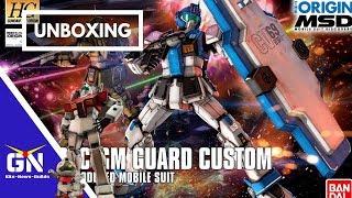 Late Night Gunpla Show: Unboxing HG 1/144 GM Guard Custom