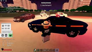 Roblox Police Sim: NYC New York State Police Episode 4