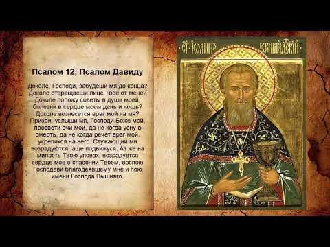 Псалом 12, Псалом Давиду (Молитва об исцелении от болезней)