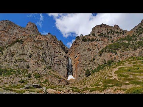 Железный трон Игры Престолов - Абай-Су, самый красивый водопад КБР