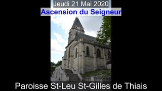 2020-05-21 – Ascension du Seigneur