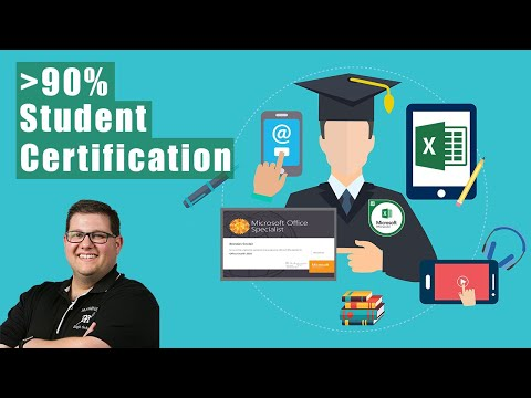 How 90% of My Students Earned the Excel Certification