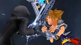 Kingdom Hearts 2: Sora vs Roxas Boss Fight (PS3 1080p) - dooclip.me