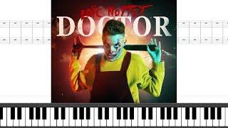 Loïc Nottet   Doctor | Piano Sheet Music + Lyrics + Chords