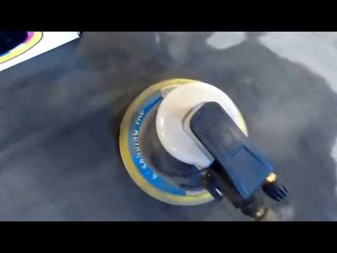 Harbor freight composite orbital air sander review item 65173