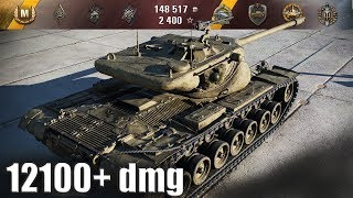 T57 Heavy Tank 12100+ dmg ЛУЧШИЙ БОЙ WORLD OF TANKS