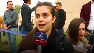 جانب من ردود فعل الطلبة المسيحيين في المعهد التقني / الموصل