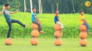 New Top Funny Comedy Video 2020__Very Funny Stupid Boys__Episode-122--Indian Fun || ME Tv