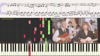 Chet Atkins & Suzy Bogguss - One More For The Road (Ноты) (piano cover)