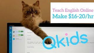 Work from Home with Qkids - Teach English Online