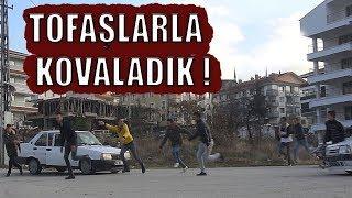 İNSANLARIN ÜZERİNE TOFAŞLA KOŞMAK ! - ( EFSANE ŞAKA POLİS GELDİ! )