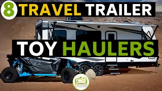 8 Amazing Travel Trailers with a Toy Hauler