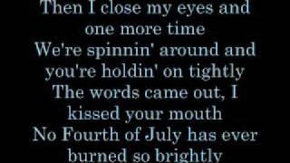 Keith Urban 'Til Summer Comes Around Lyrics