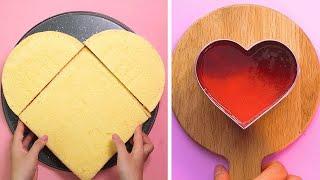 How To Make Heart Cake Decorating Ideas   Yummy Chocolate Cake Recipes   Top Yummy Cake Tutorials