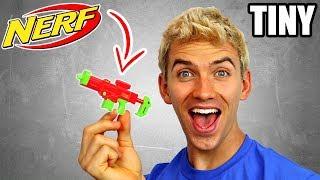WORLDS SMALLEST NERF GUN!!