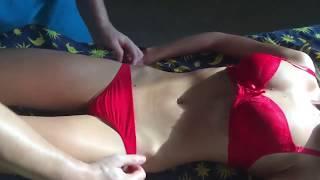 Растяжки Уменьшить массажем.