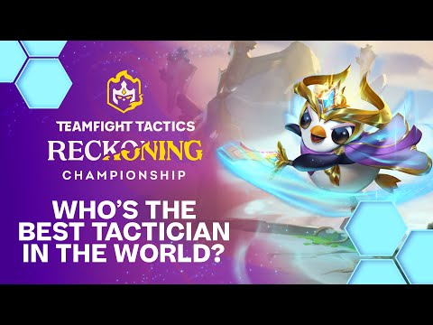 Who is the best Tactician in the World? | TeamFight Tactics Reckoning Championship