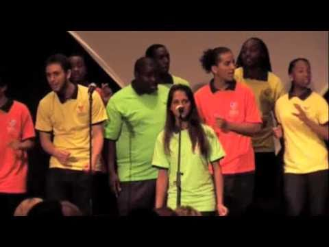 Imagine - The Urban Nation H.I.P-H.O.P Choir-  Soloists Savannah Kloeden/Dr Rickey Payton