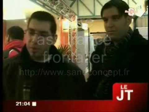 SanoConcept présente son produit d'assurance frontalier au salon des transfrontaliers 2010