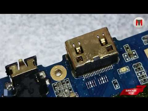 HOW TO REPLACE HDMI PORT PRO PROFESSIONALLY