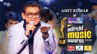 Amit Kumar spreads the magic of Retro at Smule Mirchi Music