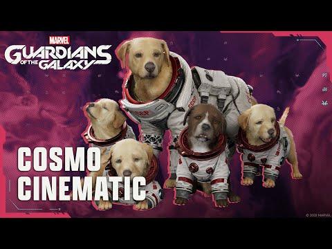 Cinématique de Cosmo de Marvel's Guardians of the Galaxy
