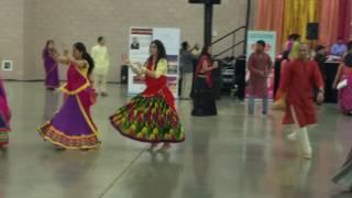 Atul Purohit Garba night in Dallas Texas 1
