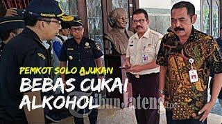 Pemkot Solo Ajukan Bebas Cukai Alkohol untuk Bahan Hand Sanitizer