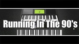 running in the 90s piano - TH-Clip