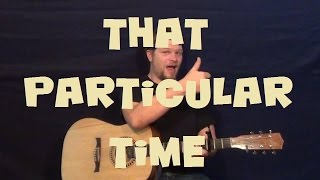 That Particular Time (Alanis Morissette) Easy Guitar Lesson How to Play Tutorial