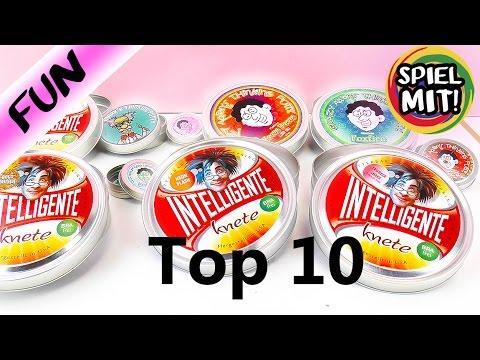 TOP 10 Intelligente Knete + crazy Aarons Thinking Putty