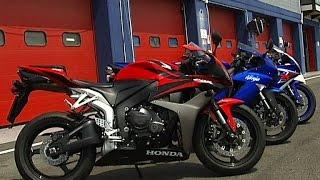 Comparativa Supersport giapponesi MY 2008: Honda CBR600RR, Kawasaki ZX6-R, Suzuki GSX6R e Yamaha R6
